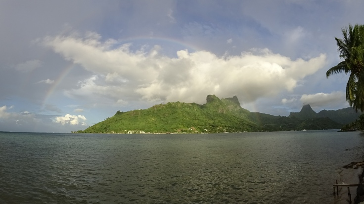 Mountains in Moorea